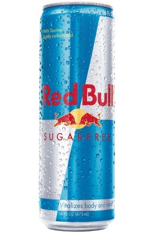 Sugar Free Red Bull Image