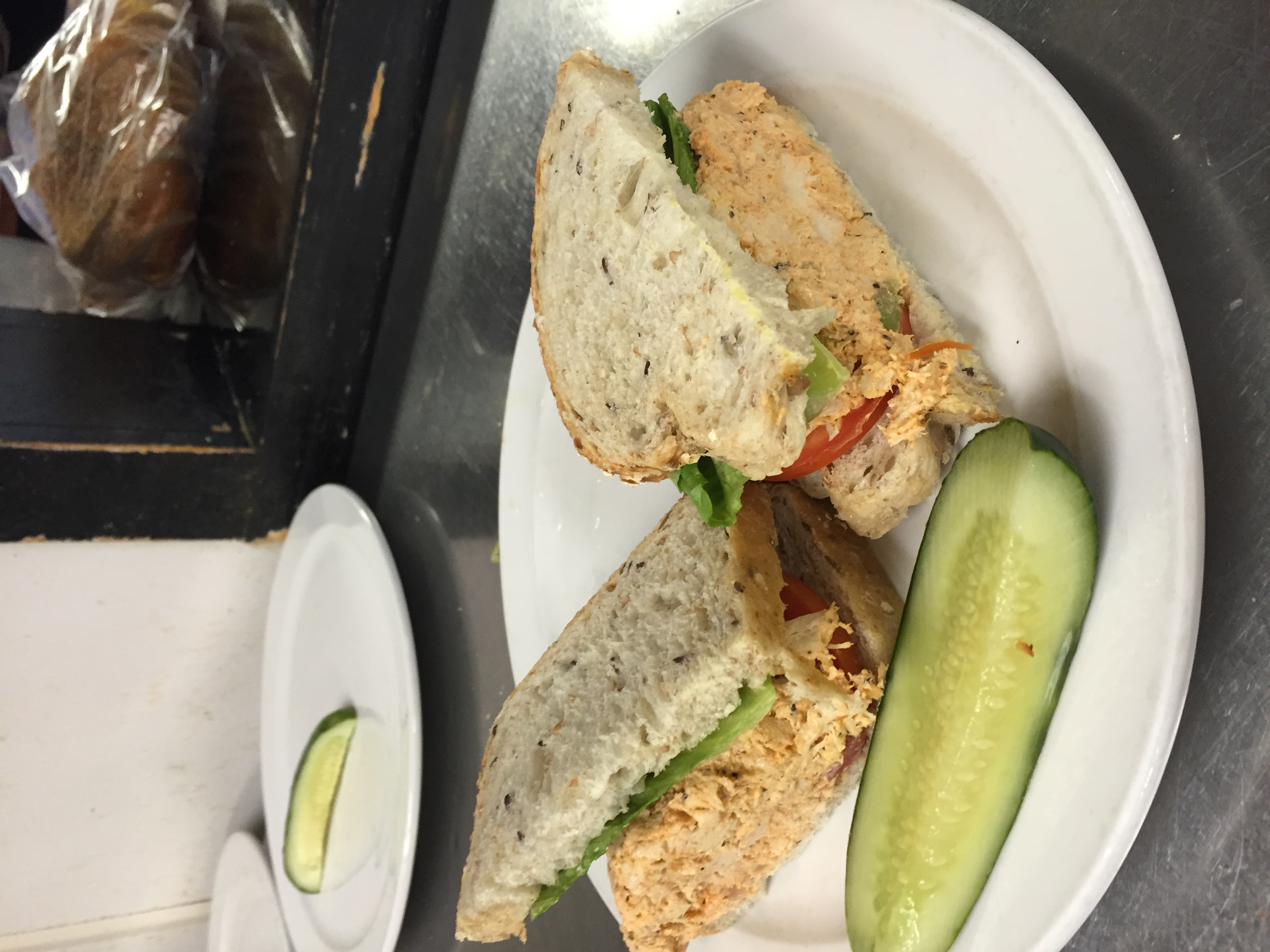 #8 Tuna, Chicken or Egg Salad Sandwich Image