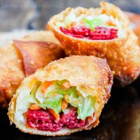 Corned Beef Egg Roll