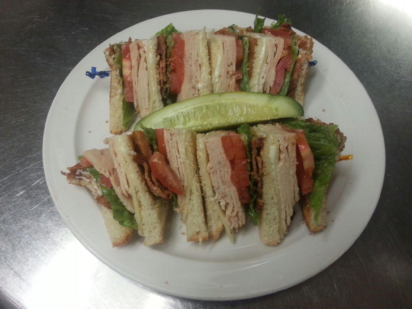#9 Club Sandwich Image