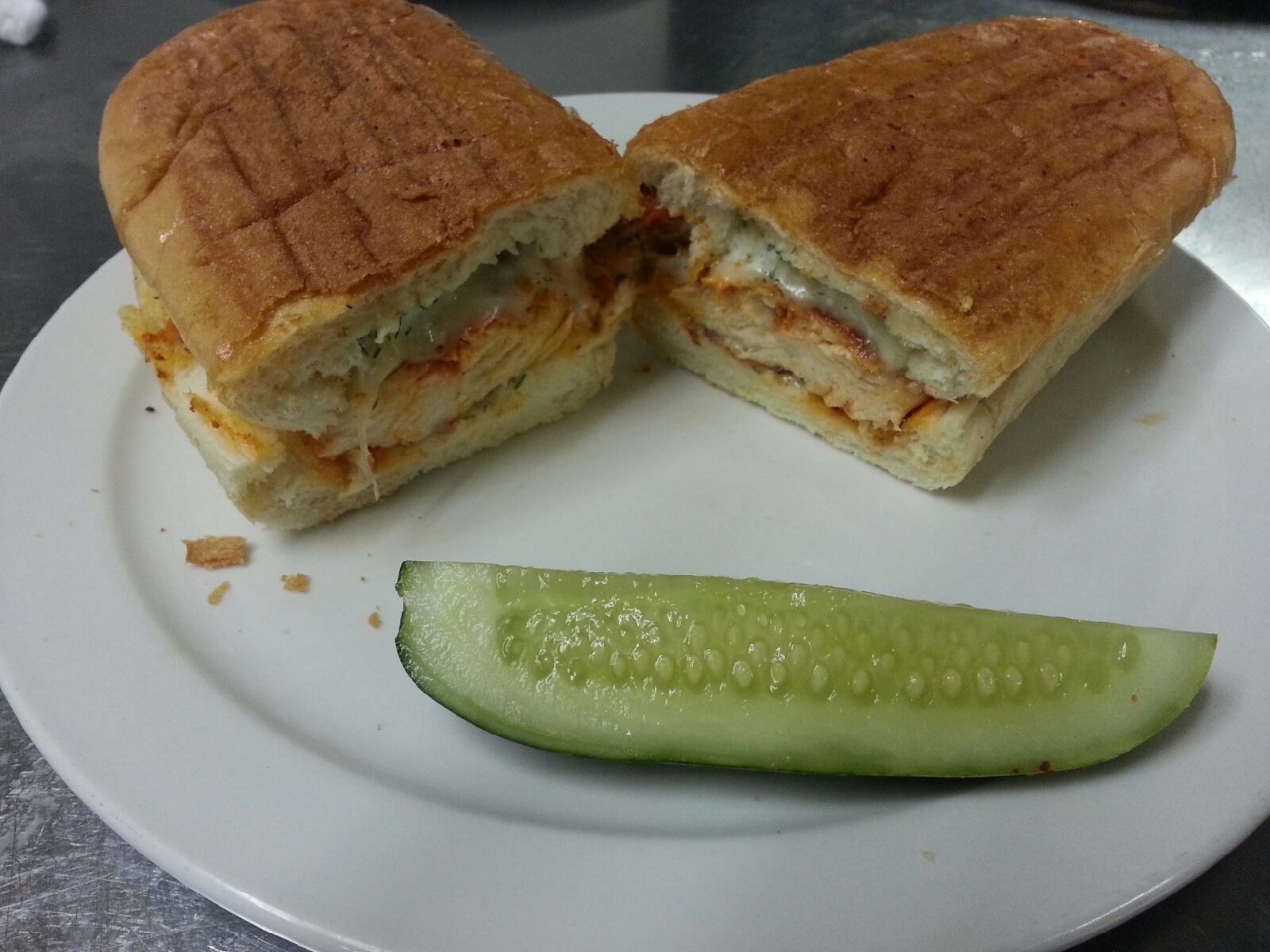 #19 Chicken Breast -N- Cheese Image