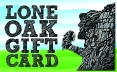 LONE OAK GIFT CARD