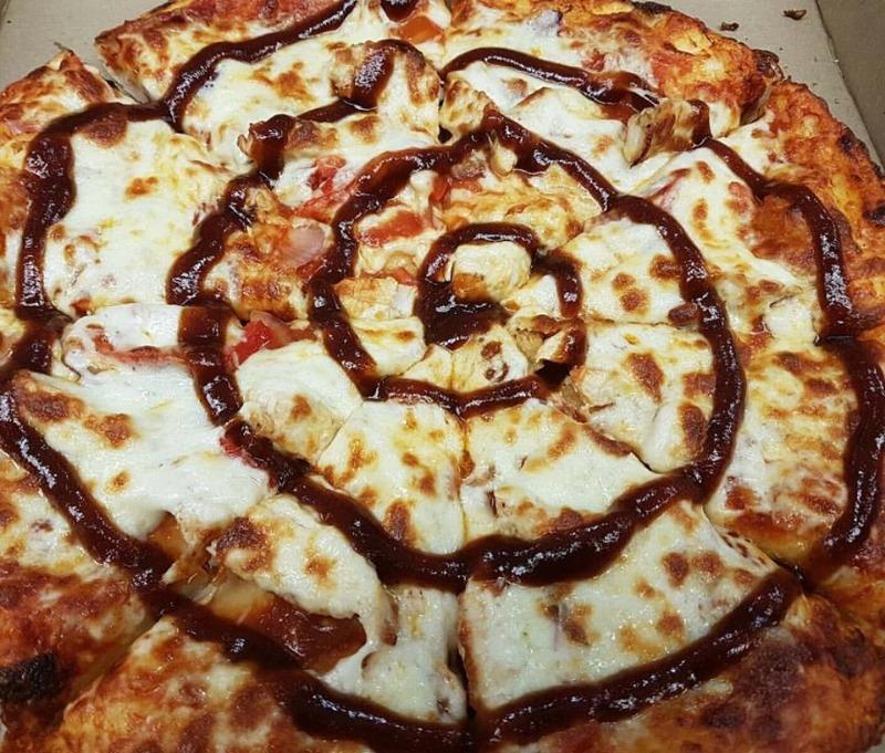 BBQ Grill Pizza Image