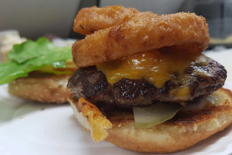 Fresh Hand Pressed Burger Image