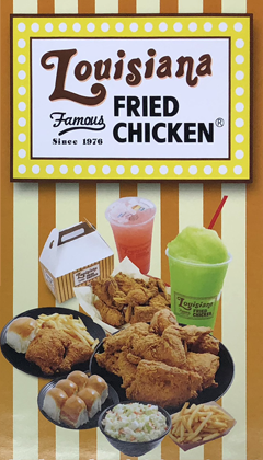 Louisiana Famous Fried Chicken