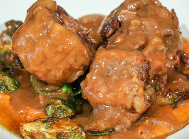 Slow Braised Oxtails