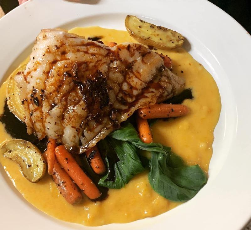 Sweet Soy Glazed Grilled Grouper