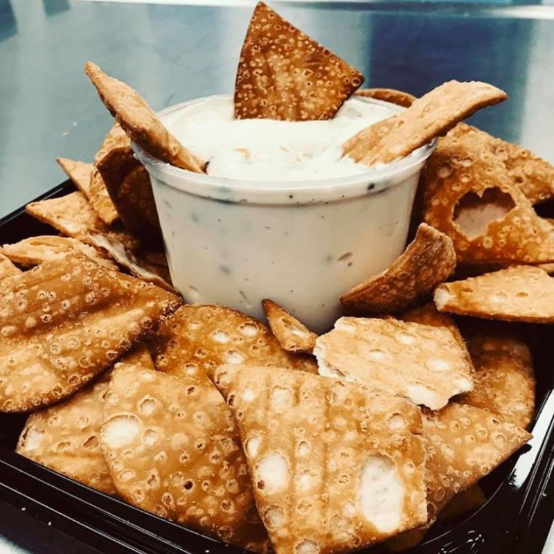 Cannoli Chips and Dip Image