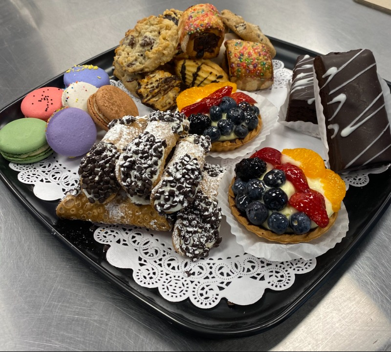 Assorted Cookie and Pastry Tray Image