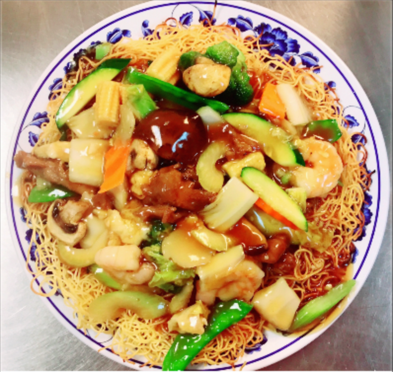 22. Hong Kong Style Crispy Noodles Image