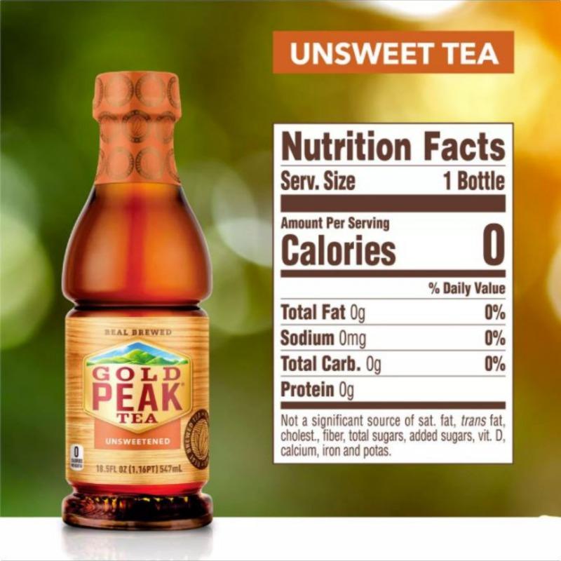 GOLD PEAK UNSWEETENED TEA Image