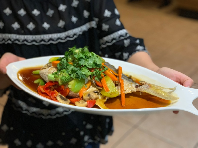 whole fish (pompano) tamarind (LIMITED TIME) Image
