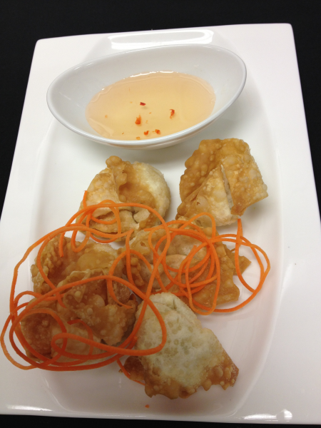 Crab Cheese Wonton (6 Pcs)