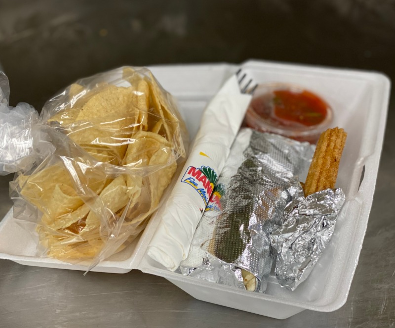 Burro Boxed Lunch Image