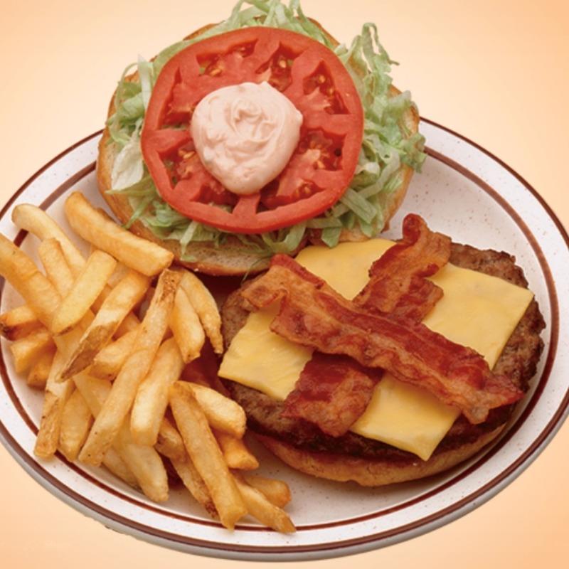 California Burger & Fries Image
