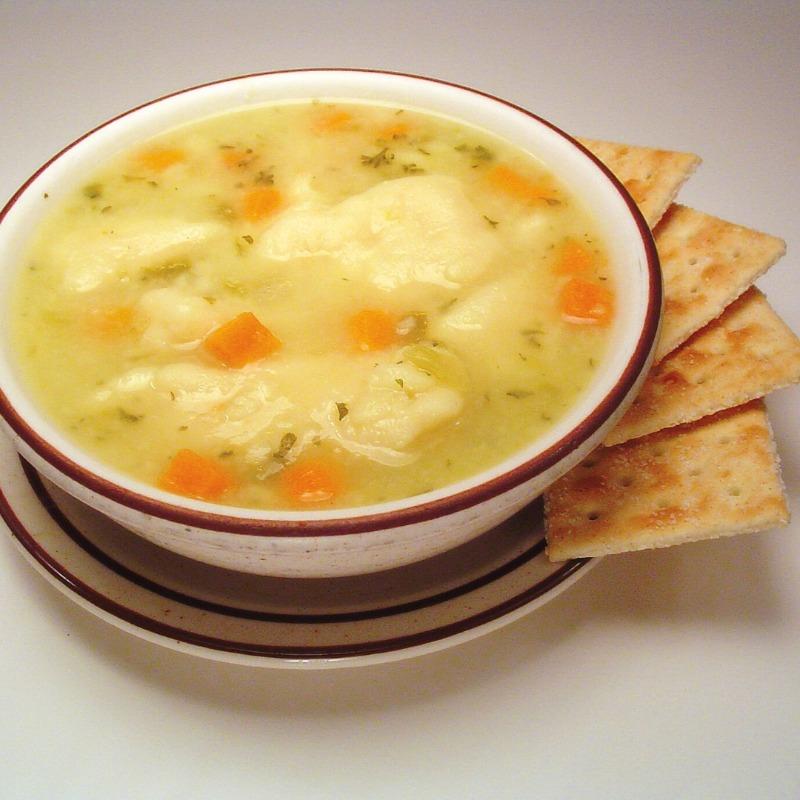 Mary's Dumpling Soup
