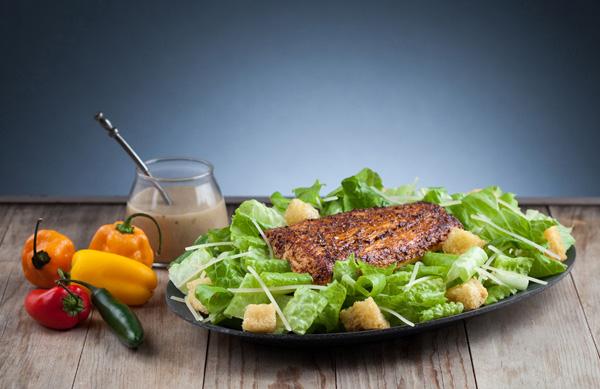 Grilled Mahi Caesar Salad