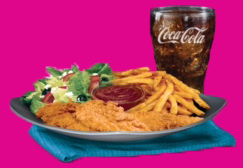 #8 Chicken Tenders Platter Meal Image