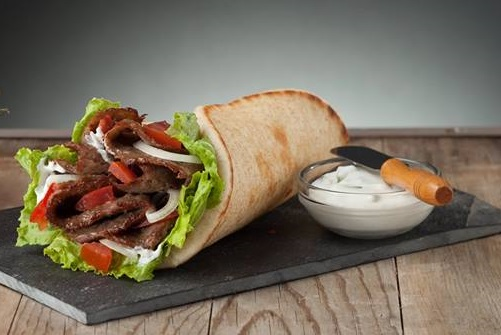 #3 Gyros Pita Meal Image