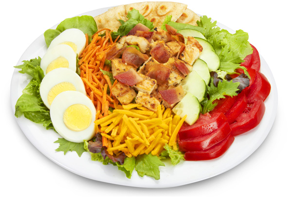 Grilled Chicken Club Salad