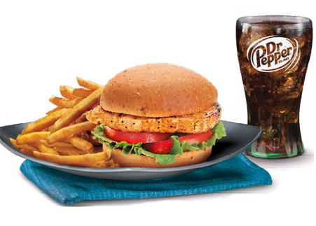 #6 Krispy or Grilled Chicken Sandwich Meal Image