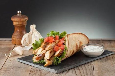 Chicken Pita Image