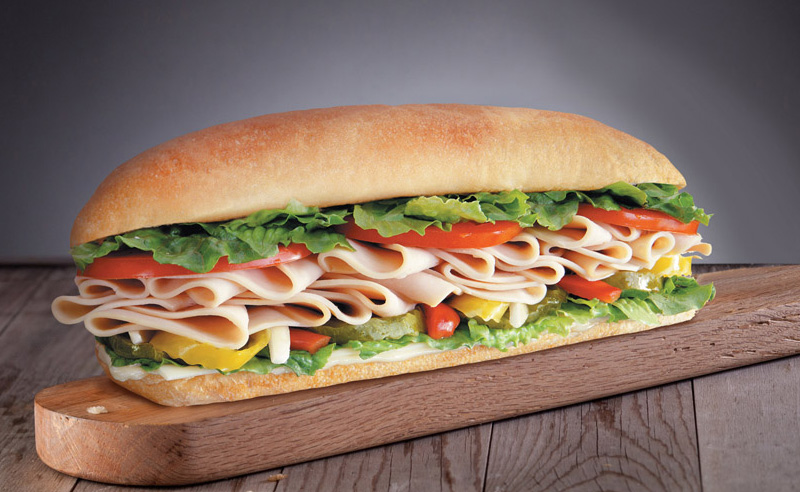 #5 Turkey Sub Combo Image