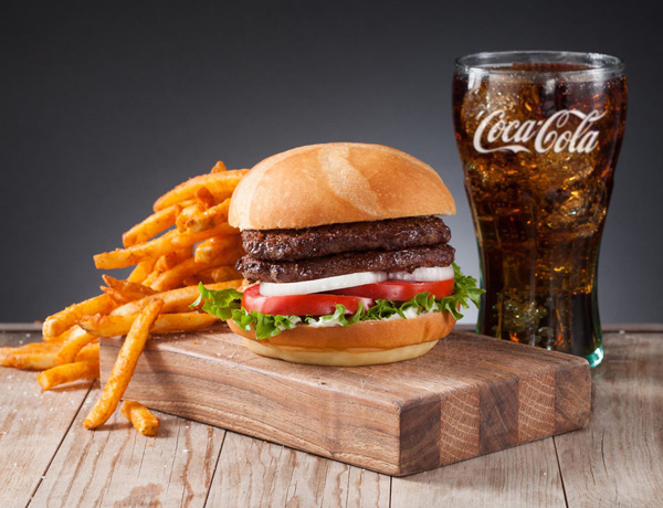 #1 Burger Combo Image
