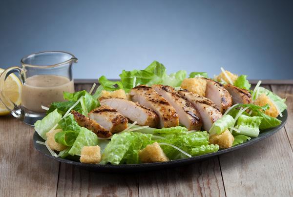 Grilled Chicken Caesar Salad Image