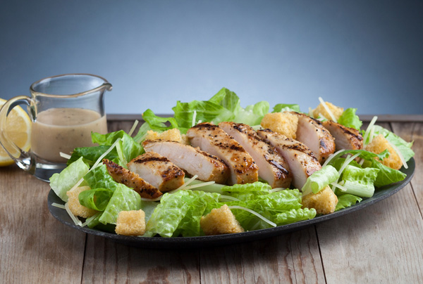 #11 Grilled Chicken Caesar Salad Meal Image