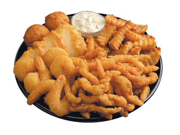 Seafood Sampler Platter Image