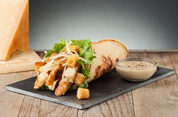 Chicken Caesar Pita Image
