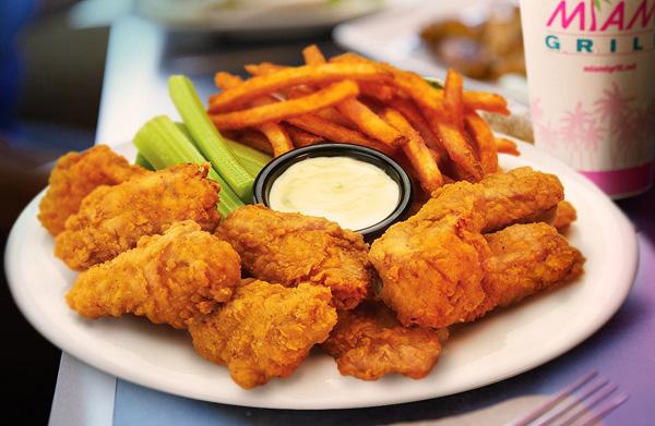 Krispy Chicken Tenders Platter Image