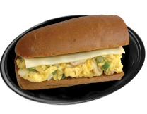 "6"" Breakfast Sub Image"