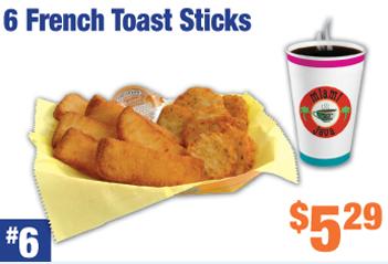#6 French Toast Sticks Combo Image