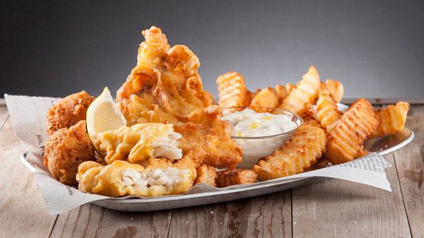 #10 Fish & Chips Meal