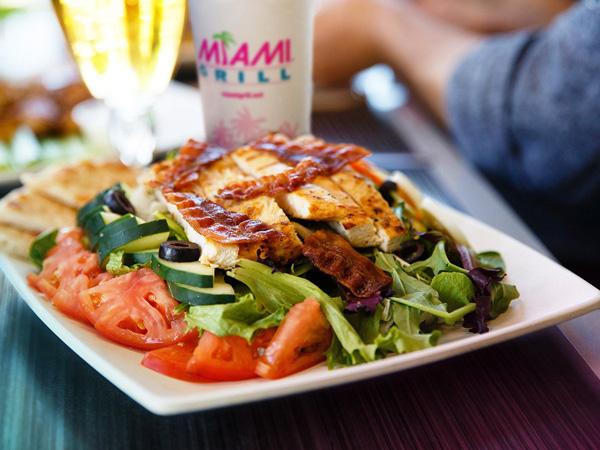 Grilled Chicken Club Salad