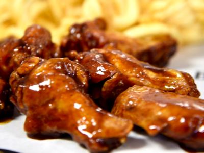 Honey BBQ Wings Image