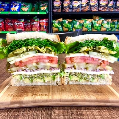 BYO Vegetarian Sandwich - Cold Image