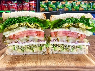 Vegetarian Sandwich - Cold Image