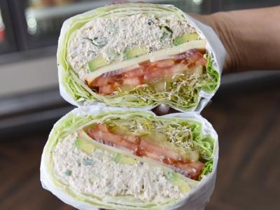 No Carb Tuna Salad -  Hot