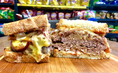 Mike's Patty Melt - Hot Image