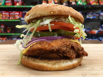 Fried Chicken Sandwich Image