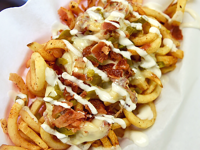 """""""3 Pepper Cheese Fries"""" Image"""