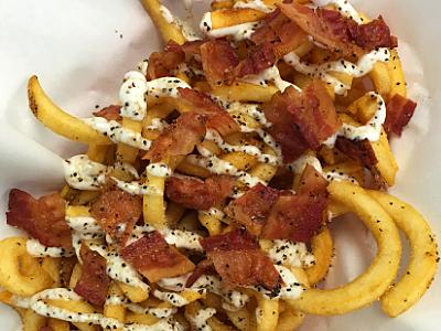 """""""Lemon Pepper Bacon"""" Fries Image"""