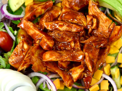 Sweet & Spicy BBQ Chicken Salad Image
