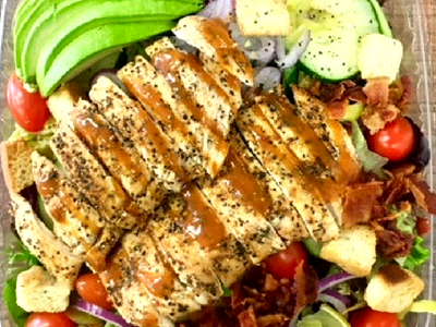 Boss Grilled Chicken Salad Image