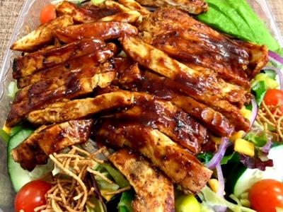 Honey BBQ Chicken Salad Image