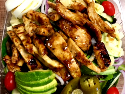 Grilled Honey Mustard Chicken Salad Image