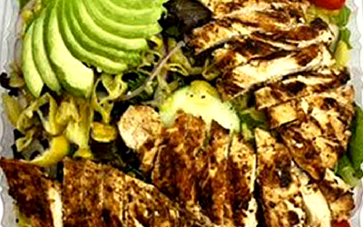 Build Your Own Salad w/ Chicken Image